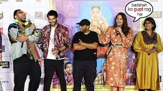 Sonakshi NAILED It | Sonakshi Sinha Back to Back FUNNY Moments At Khandani Shifakhana Trailer Launch