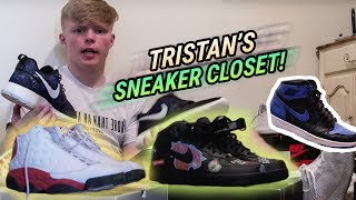 """I May Pick Up Some GUCCIS."" Tristan Jass Shows Off His Underrated SNEAKER CLOSET 🔥"