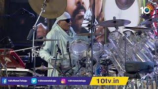Sivamani Awesome Performance At Vakeel Saab Pre Release Event | Pawan Kalyan | 10TV News