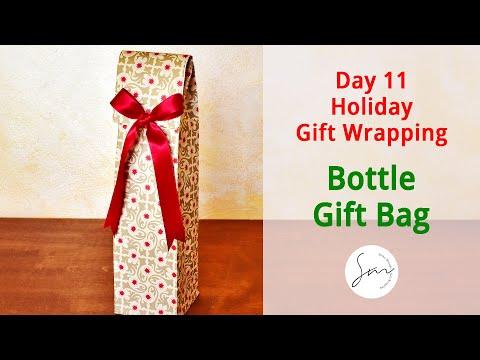 Day 11 DIY Gift Bag for Bottles