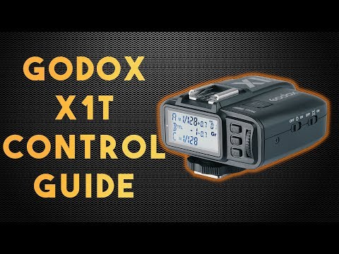 Godox X1T Control Guide with Custom Functions (Flashpoint R2 Flash Transmitter) (Pixapro ST III)