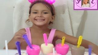 Dondurma Nasıl Yapılır.Renk Renk Dondurma . How We Can Make Ice Cream At Home