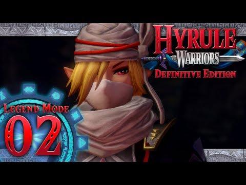 Hyrule Warriors: Definitive Edition - Part 2 - The Sheikah Tribesman (Eldin Caves)