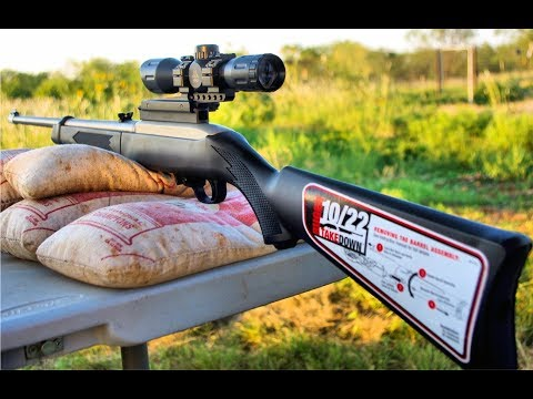REVIEW:  Ruger 10/22 Takedown