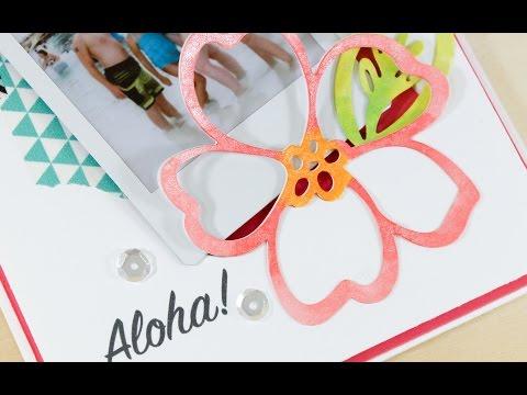 Aloha Photo Card