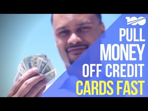 Easily Pull Money Off Credit Cards