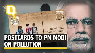 Postcards to PM: Delhi Children Ask For Fresh Air to Breathe | The Quint