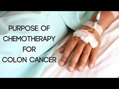Purpose of Chemotherapy for Colon Cancer