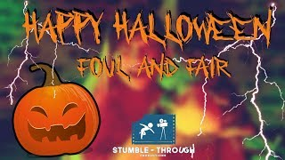 Music Video - Double Double Toil and Trouble Scene - Macbeth - Happy Halloween!