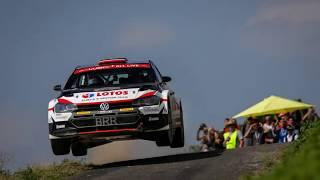 Kajetan Kajetanowicz na mecie Rajdu Niemiec 25.08.2019 FIA WRC