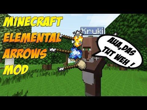 Minecraft Elemental Arrows Mod 1.7.2 [GERMAN/HD]