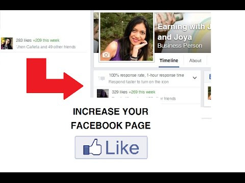 Increase your Facebook Page and Photo Likes
