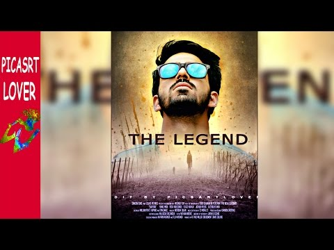 Picsart movie poster editing Easy movie poster  manipulation mobile editor MOVIE POSTER IN PICSART