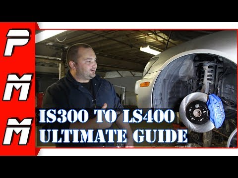 Big brake upgrade for the IS300! LS400 brake conversion ultimate guide