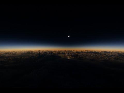 Alaska Airlines Solar Eclipse Flight #870