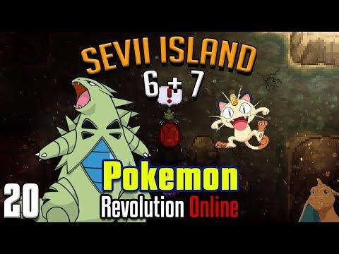 Chasing Meowth & Slaying Tyranitar! Sevii Islands Pokemon Revolution Online Pt. 20