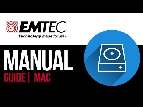 EMTEC external hard drive Set Up Guide for Mac 2019