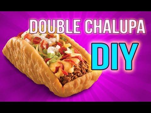 DIY Double Chalupa Recipe -Taco Bell Copycat