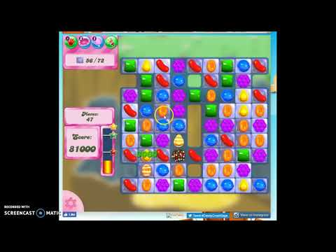 Candy Crush Level 35 Audio Talkthrough, 1 Star 0 Boosters