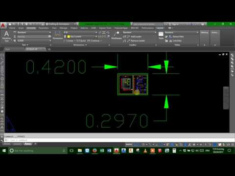 Autocad_How to make the same text height with different mv-scale for Printing by Ranna Leng