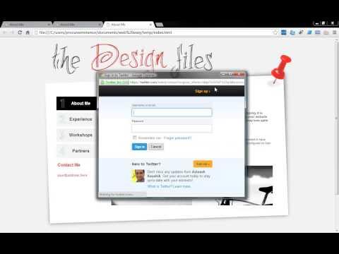 Add a Tweet Button using Web Easy Professional 9