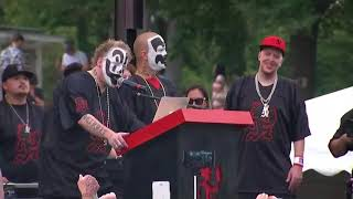 Insane Clown Posse at Juggalo March allege discrimination over gang label from the FBI
