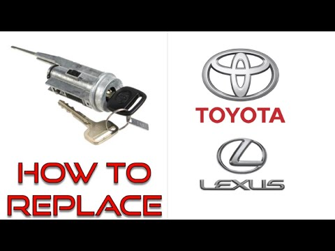 How To Replace Lock Cylinder For Toyota