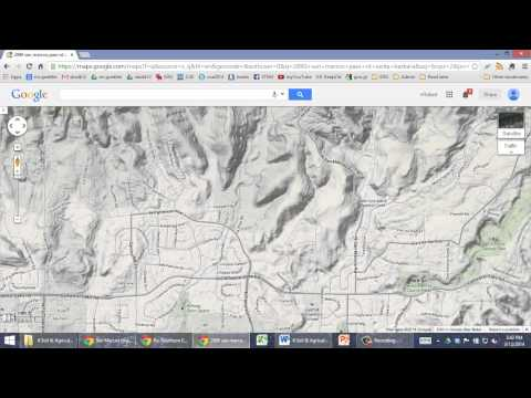 How to find your watershed using Google Maps