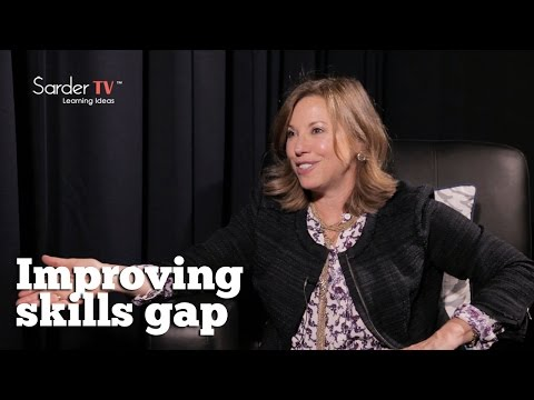 How can we improve the skills gap? By Andrea Elkin, VP of Enterprise Learning at ADP.