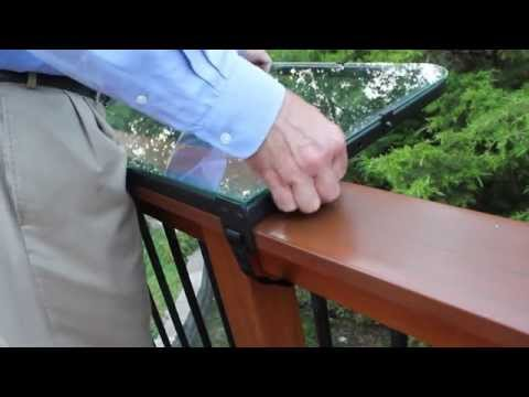 Install Deck Railing Table