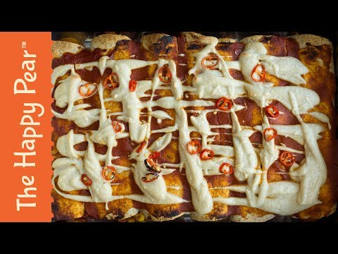 Vegan Enchiladas | Cheap Easy & Healthy | THE HAPPY PEAR