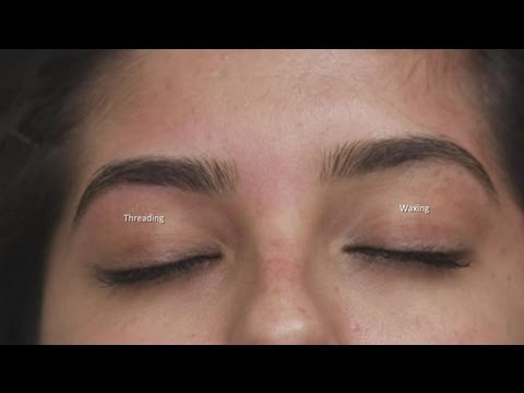 What Is the Difference Between Waxing & Threading? : Eyebrow Grooming & More