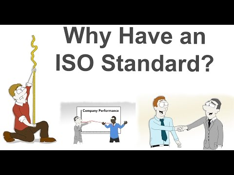 Why Have an ISO Standard | ISO Standards