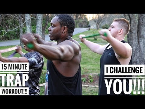 15 Minute Trap Workout!!! I Challenge YOU!!!