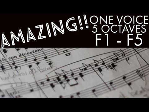 Vocal Range (F1 to F5)- Eric Hollaway