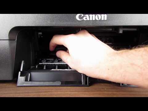 Canon PIXMA TS3150 Change ink cartridges