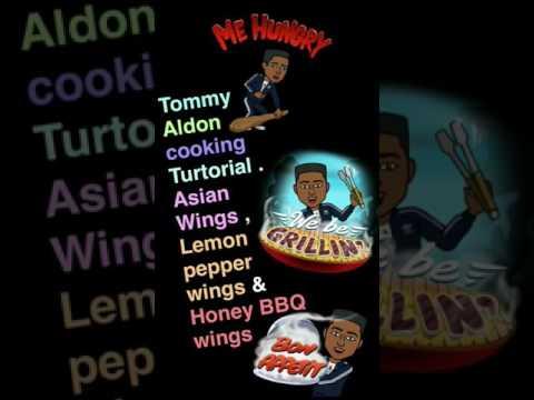 How to make Lemon pepper wings , Asian wings , honey BBQ wings