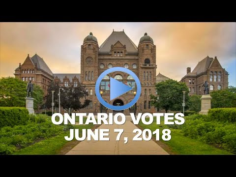 A Time for Change: 2018 Ontario Provincial Election