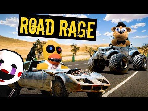 FNAF Plush Episode 133 - Road Rage!!!
