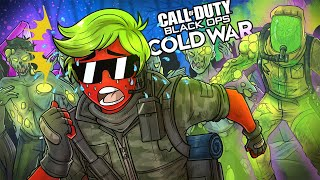 MOST INTENSE ZOMBIES GAME EVER!! Call of Duty Black Ops Cold War