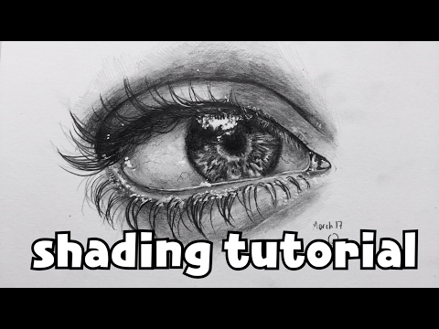 How to draw an Eye - Shading