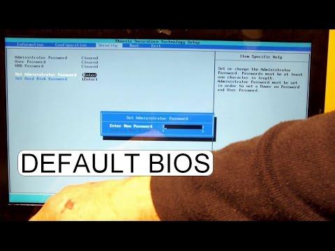 Install Windows on Lenovo FreeDos NO OS Laptops, BIOS Setup (First
