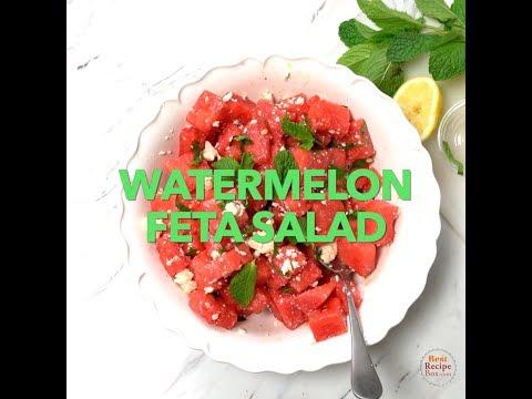 Watermelon Feta Salad - Summertime Pleasure!