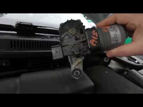 2013 VW Jetta wiper motor & fuse replacement.