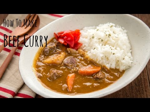 How to Make Beef Curry (Recipe) ビーフカレーの作り方(レシピ)