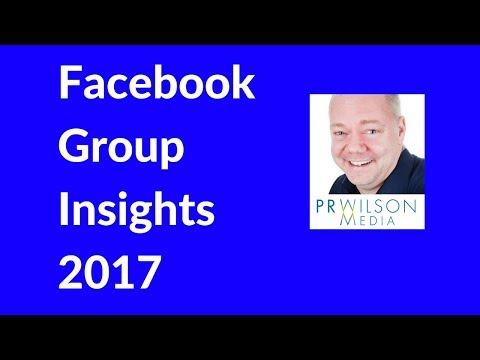 Facebook group insights 2017