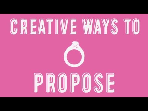 Infographic: Creative Ways to Propose