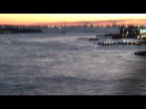 brooklyn bridge sunset drive