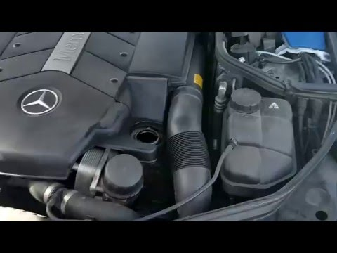 How to check oil - Mercedes cls