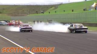 Twin Camaro Powerskids At Powercruise